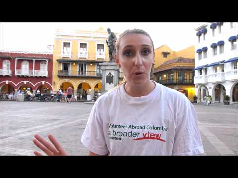 Review Video Volunteer Abroad Colombia Cartagena Jessica Hervey Teaching program