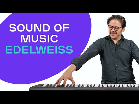How to play 'EDELWEISS' from 'The Sound of Music' on the piano -- Playground Sessions