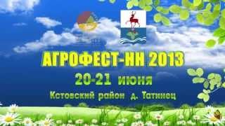 Кстовское телевидение. Агрофест - НН 2013