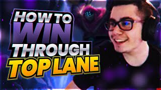 How To WIN THRΟUGH TOP in SOLO QUEUE!   TFBlade