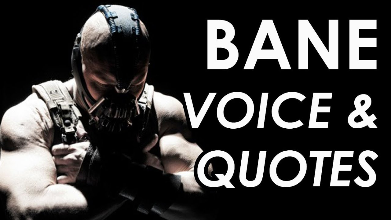 Batman Joker Quotes Hd Wallpapers Bane Quotes Amp Voice The Dark Knight Rises Youtube