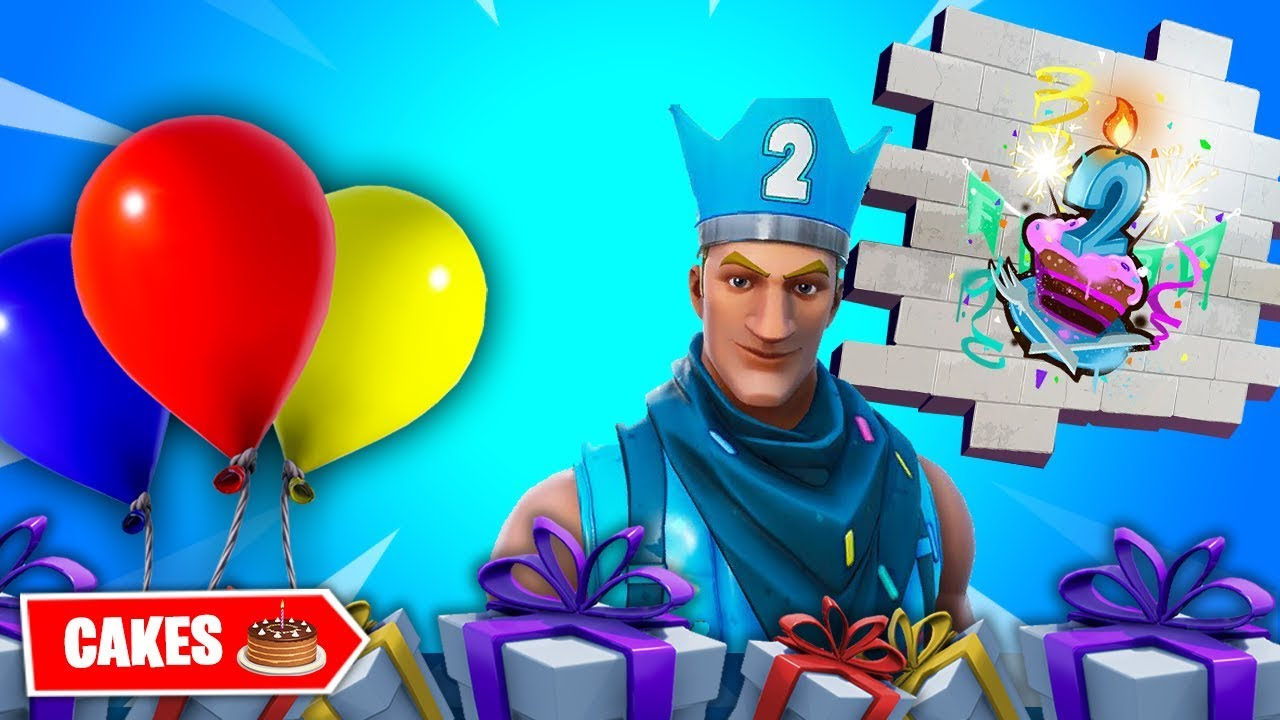 All Fortnite BIRTHDAY CAKE LOCATIONS 🎂 Season 9 🛣 - YouTube