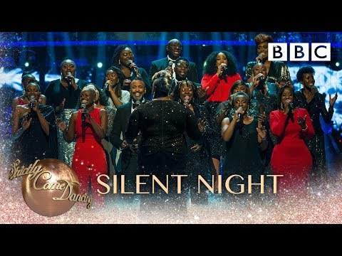 Karen Gibson and The Kingdom Choir perform 'Silent Night' - BBC Strictly 2018