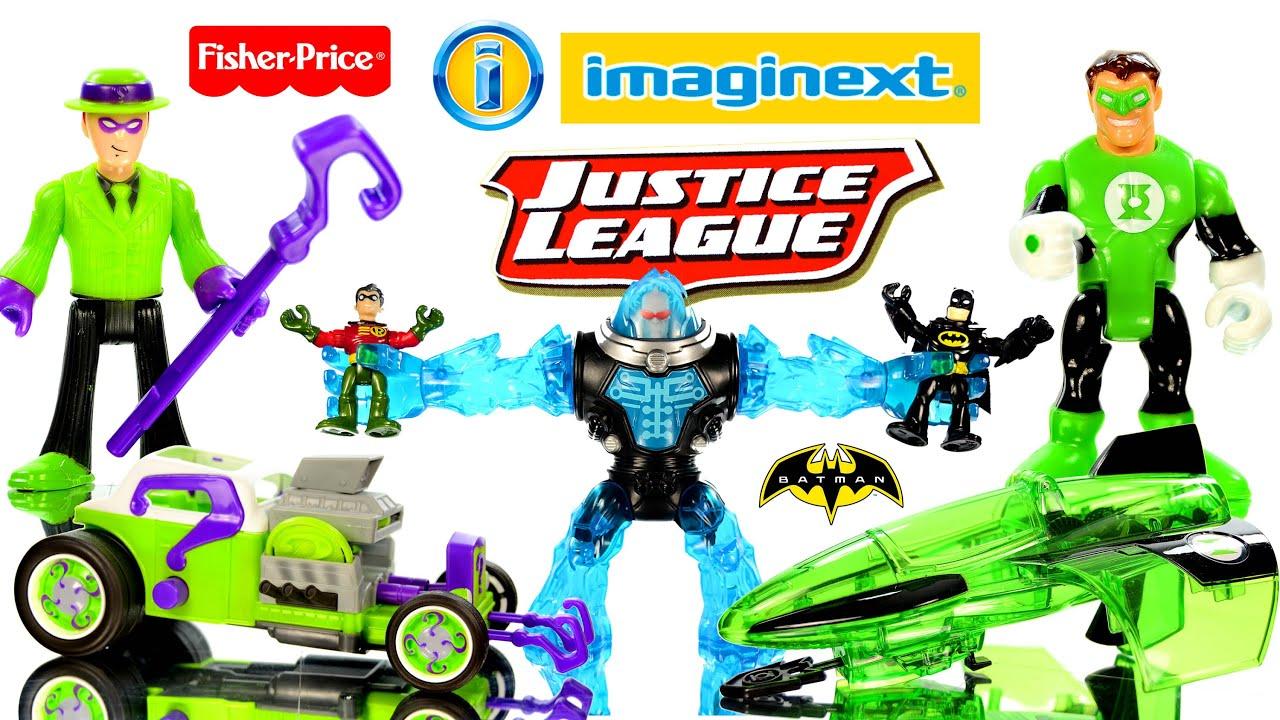 Imaginext Batman Superman Krypto Battle Two Face & Riddler ... |Imaginext Riddler