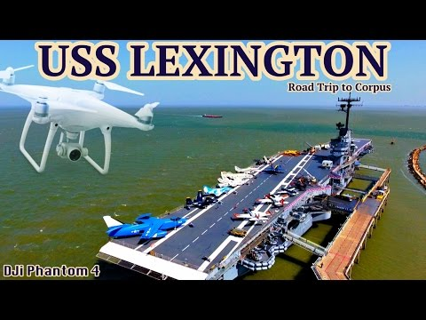 USS Lexington  Corpus Christi, TX  Road Trip to Corpus- Day 1 4K(UHD)