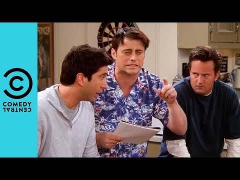 Ross and Chandler Get Bamboozled | Friends