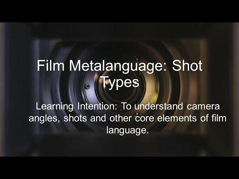Film Shot Type Metalanguage [Film-as-Text Essay]