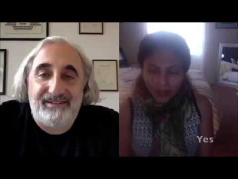 My Chat with Ensaf Haidar, Wife of Raif Badawi (with English Subtitles) (THE SAAD TRUTH_559)