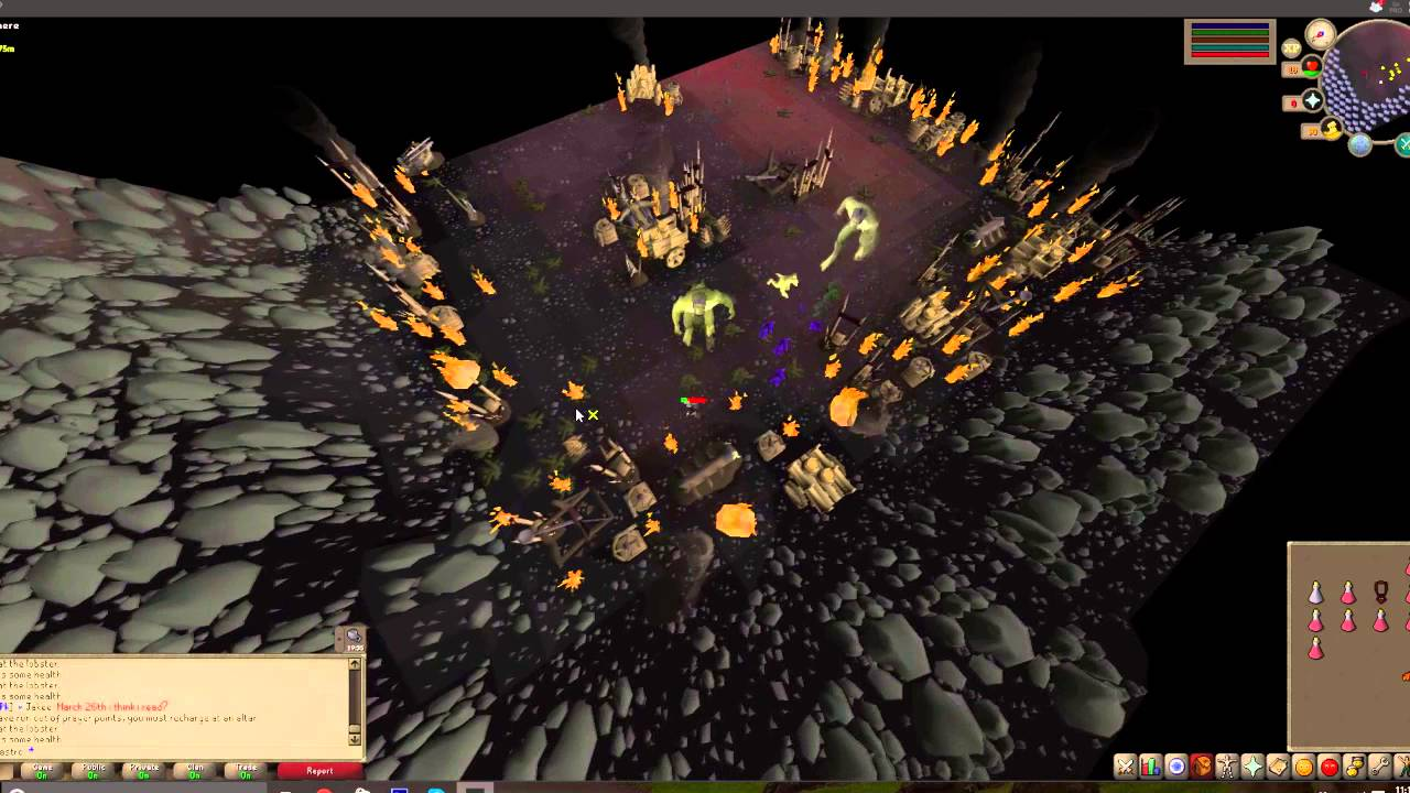 OSRS LIZARDMAN SAFESPOT AFTER PATCH! DONE EASY 60+ combat! by RsSpeany