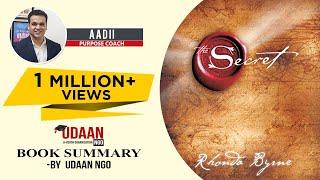 Download The Secret | Rhonda Byrne | Hindi Book Summary | Aadi Gurudas | Udaan NGO
