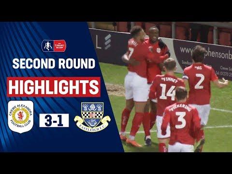 Anene's Debut Double! | Crewe Alexandra 3-1 Eastleigh | Emirates FA Cup 19/20