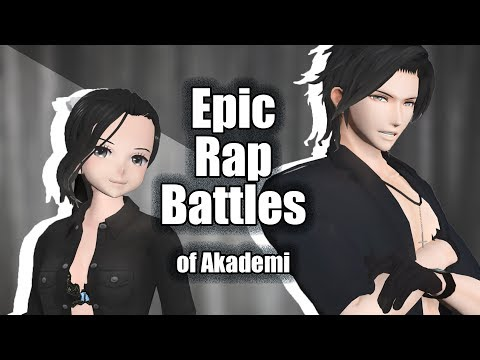 [MMD] Yandere Simulator Epic Rap Battles of Akademi - YanChan vs YanKun (ft. Leviance)