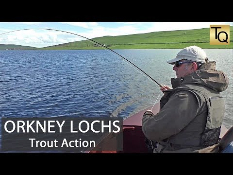 Fly Fishing For Trout In Scotland - Orkney Lochs