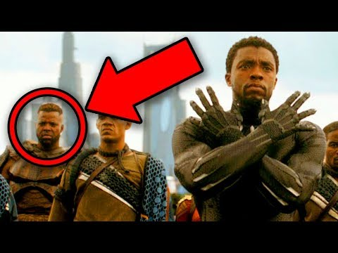 Avengers Infinity War Black Panther UPDATE