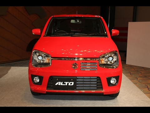 2017 Maruti Suzuki Alto Turbo RS First Look & Walkaround