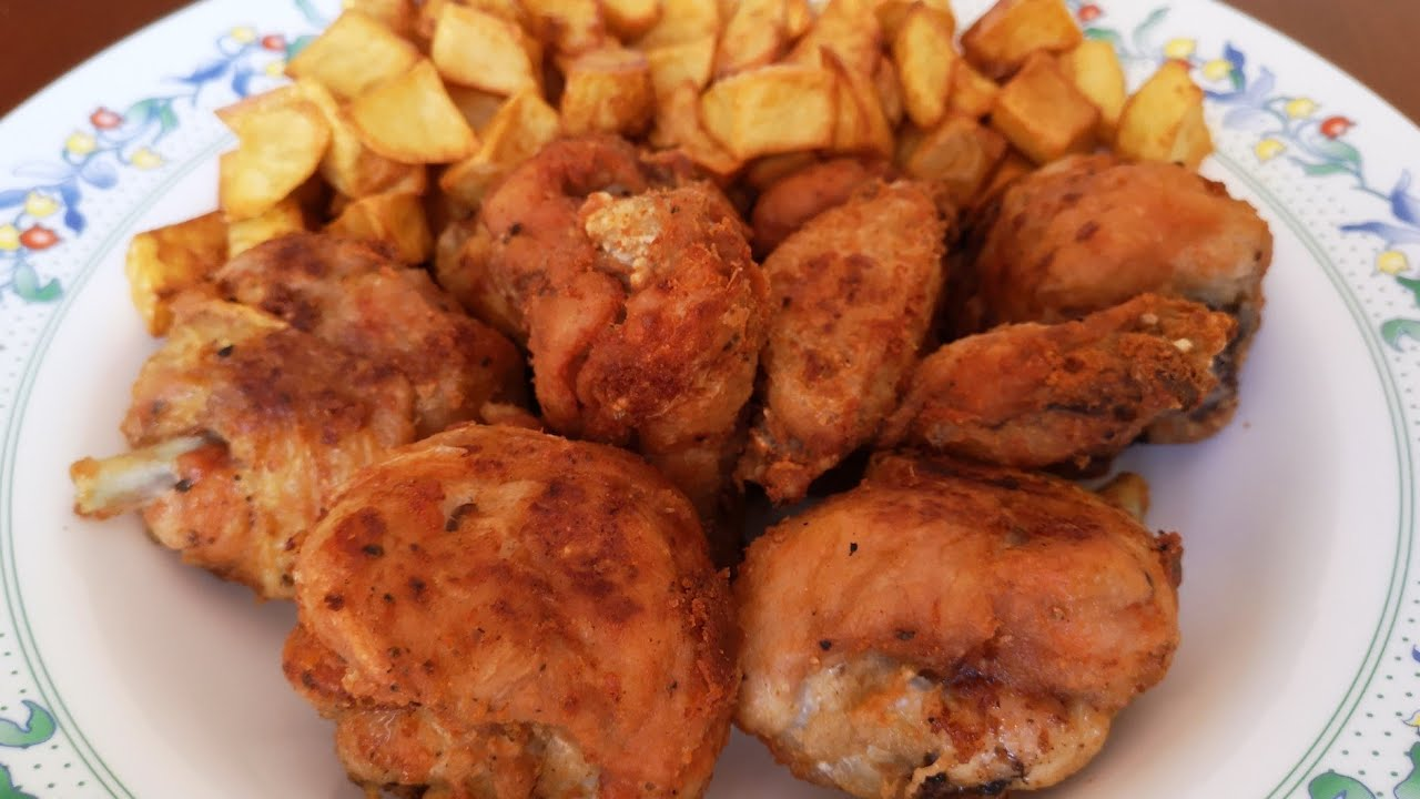 Pollo Pollo Frito Crujiente Y Jugoso Beatriz Cocina Youtube