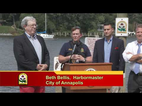 Agreement with City and County on Enforcement Along Weems Creek