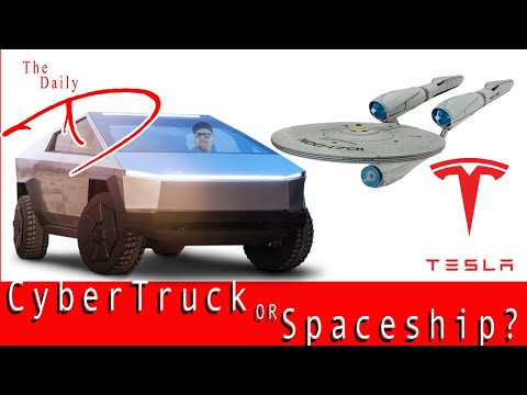 The Daily D (Is it a Tesla Or a Spaceship!? Tesla Cybertruck event review)
