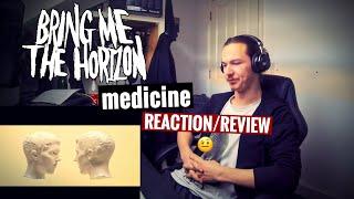 BRING ME THE HORIZON - medicine | METAL MUSICIAN REACTION Video