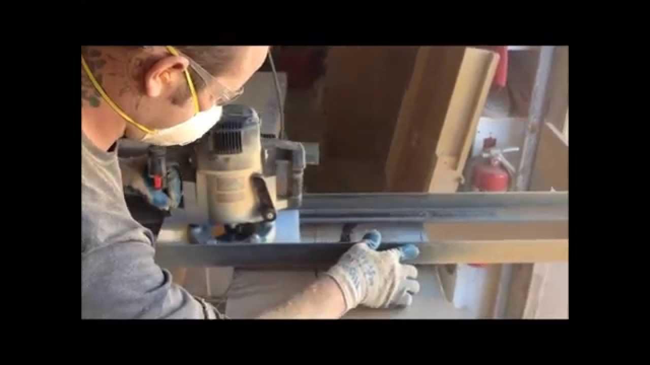 Live Edge Wood Slab Table Tops The Making Youtube