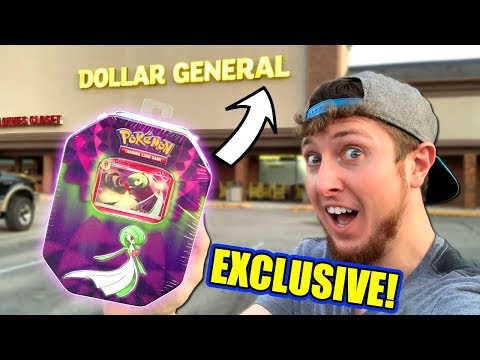 EXCLUSIVE NEW POKEMON CARD TINS Found At DOLLAR GENERAL + Unified Minds Dollar Tree Pack Opening!