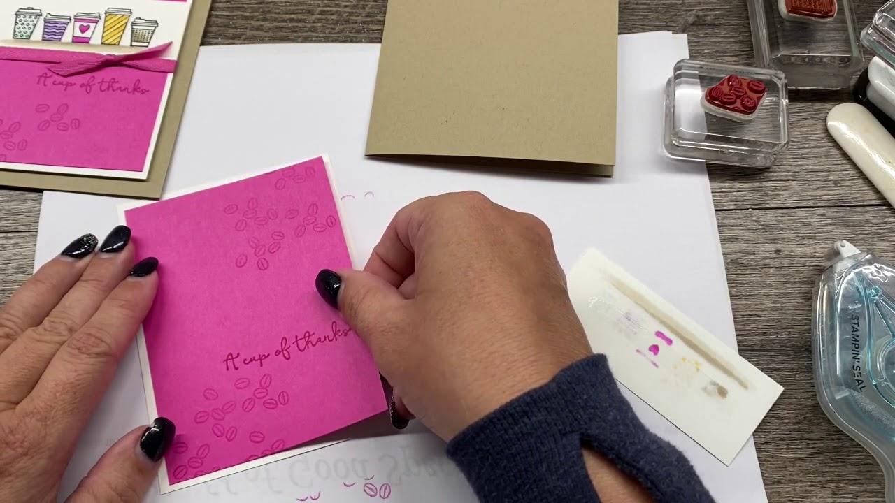How to create a cute Coffee Gift Card Holder