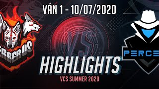 Highlights CES vs PER [Ván 1][VCS 2020 Mùa Hè][10.07.2020]