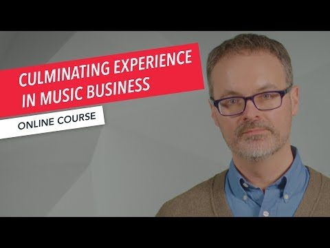 Culminating Experience in Music Business Overview | Master's Degree | Robert Lagueux | Berklee