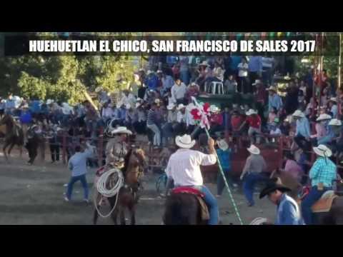 ASI SE VIVE LA FIESTA SAN FRANCISCO DE SALES, HUEHUETLAN EL CHICO PUE.2017