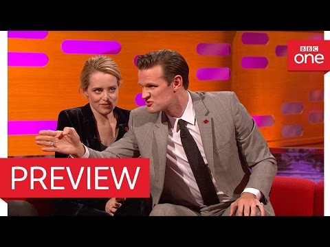 Matt Smith Spoke To Prince William About Playing His Grandfather - The Graham Norton Show 2016 – BBC