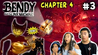 Darn Duck Boat Ride & Bendy Vs The Projectionist | Bendy And The Ink Machine | Colossal Wonders Pt 3