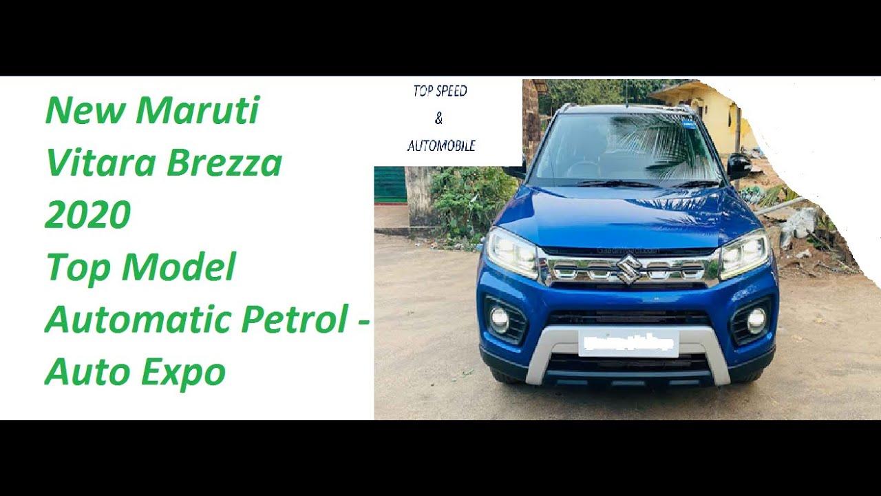 New Maruti Vitara Brezza 2020 Top model automatic petrol ...