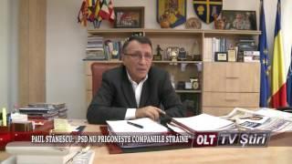 PAUL STANESCU PSD NU PRIGONESTE COMPANIILE STRAINE 2803