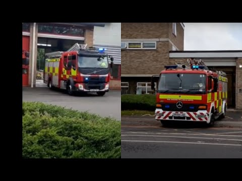 Fire Service Turnouts From Bucks,Berks And London.