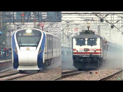 TOP 5 FASTEST TRAINS Of Indian Railways | Vande Bharat-Gatimaan-Shatabdi-Rajdhani-Duronto