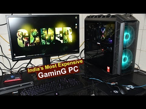india s most expensive gaming pc 32 core cpu 2080ti graphic card