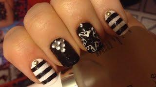 Black Veil Brides Nails 2