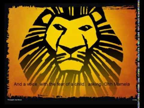 The Lion King - They Live In You (Karaoke)