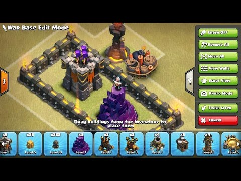 New Base Editor - Improved Base Building in Clash of Clans!