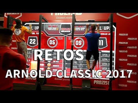 RETOS ARNOLD CLASSIC EUROPE 2017- CALISTENIA Y STREET WORKOUT