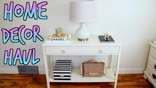 Home Decor Haul - Target, Tj Maxx, Threshold Windham Console Table & More