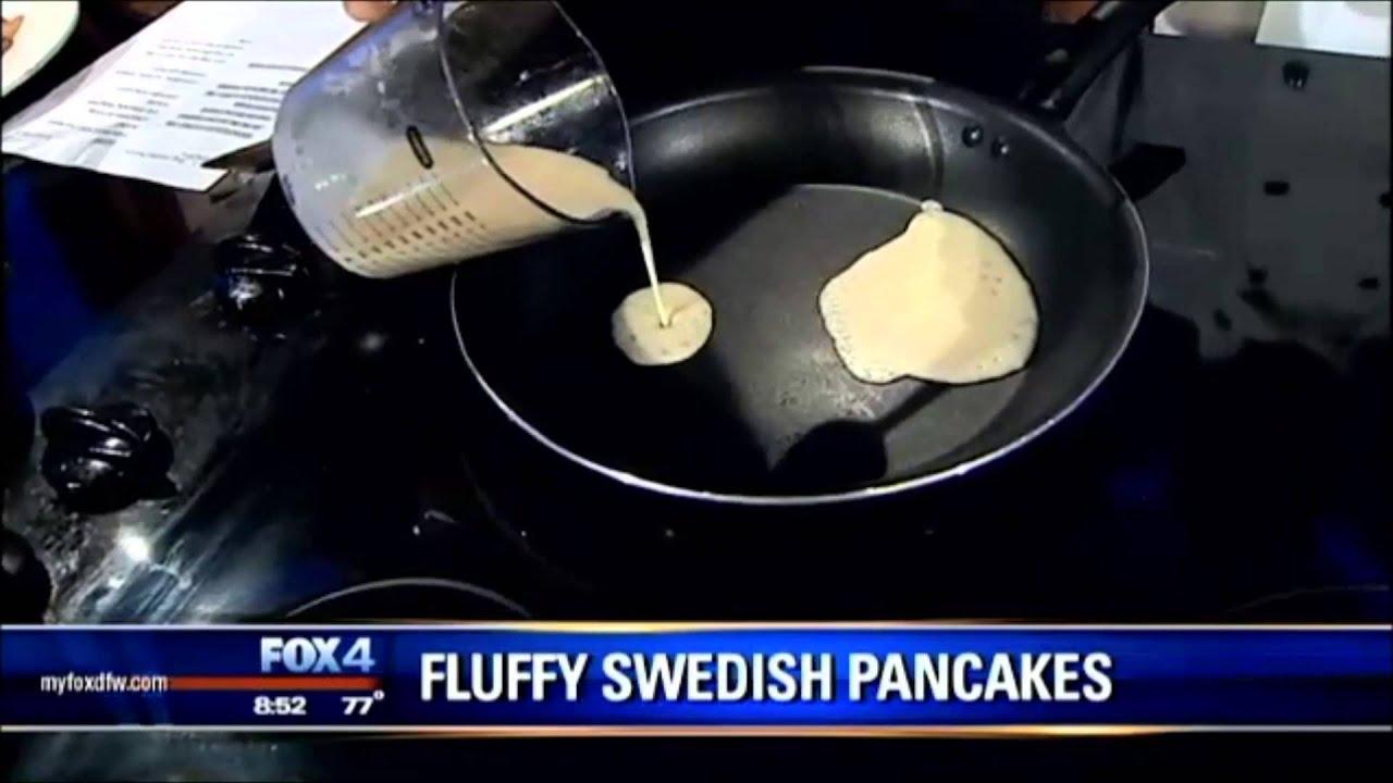 Swedish Pancakes With Original Pancake House Dfw Youtube