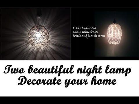 Two Night Lamps For Diwali. Diwali Night lamp,Diwali decoration ideas