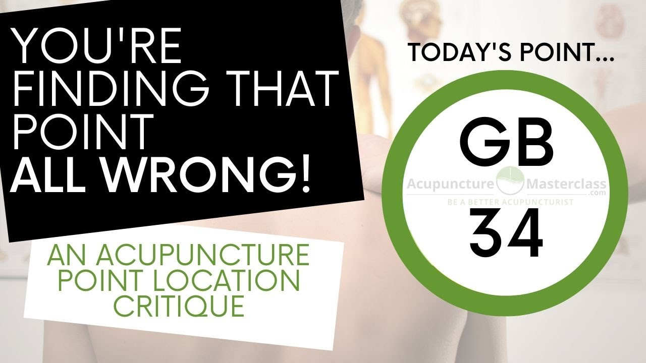 You're Locating That Point All Wrong!  GB34