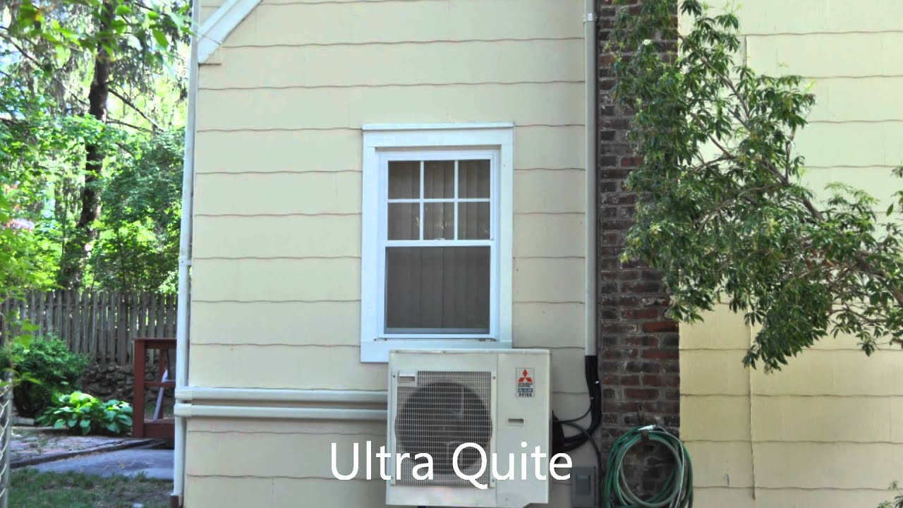 Mitsubishi Ductless Ductless Mitsubishi Mr Slim Mxz 3b30na Video Installation Youtube