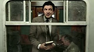 On the Train | Mr. Bean Official