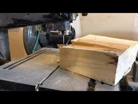 Wood Turning - Scrap log change bowl.