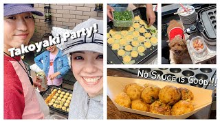 TAKOYAKI Party (Octopus Balls) | OCHIKERON | Create Eat Happy :)
