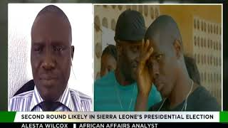 Alesta Wilcox shares his thoughts on Sierra Leone