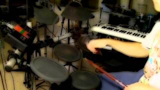 Live Electronic Drumset Jam - Happy Indie Song - Kaz